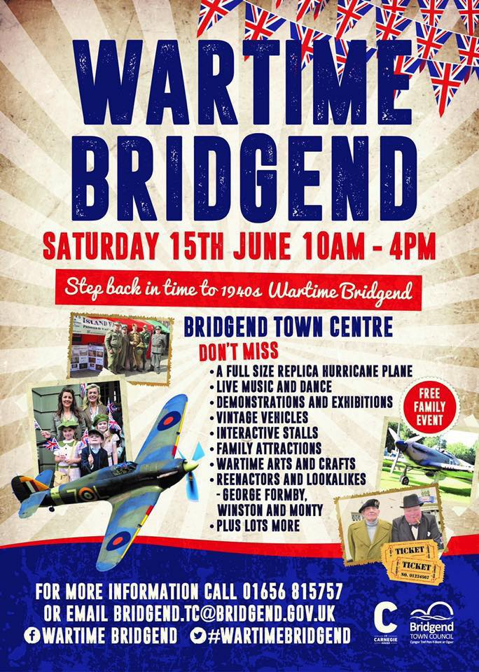 Image result for wartime bridgend 2019
