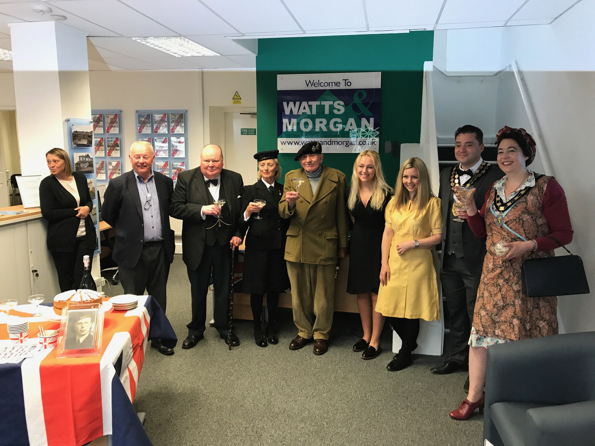 Wartime Bridgend & The Day Winston Churchill Came To Town!