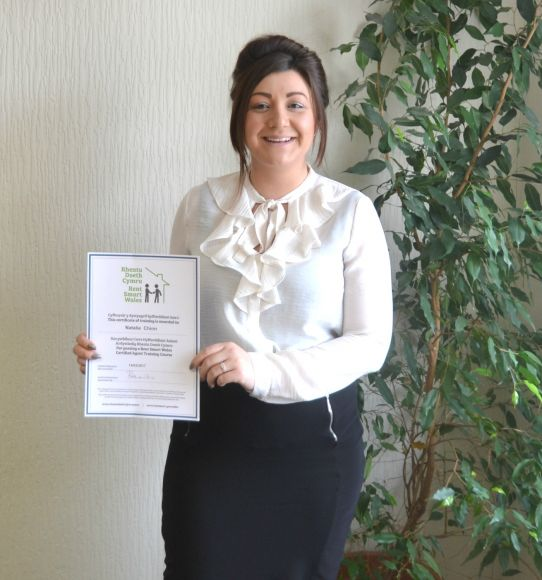 Rent Smart Wales - Congratulations Natalie Chinn!