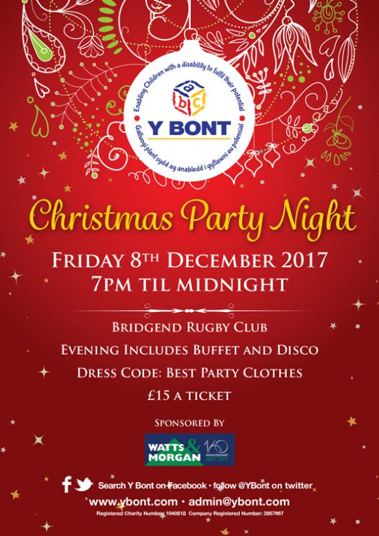 Y Bont Christmas Party