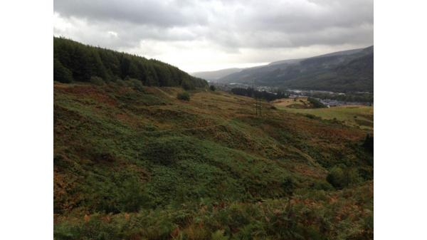 <strong>LOT 3: </strong>Approx 40.40 acres of land off Rhigos Road, Treherbert, CF42 5LN