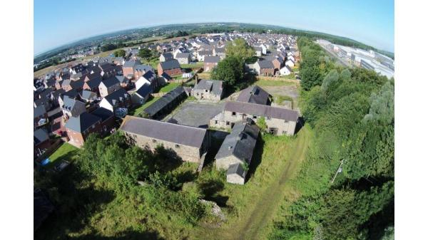 <strong>LOT 12: </strong>Former Parc Farm Buildings, Heol Spencer, Coity, Bridgend, CF35 6AU